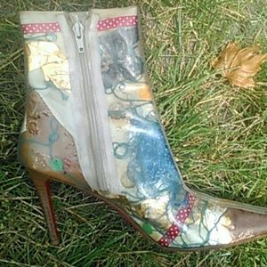 Part 2 of rare vintage Christian louboutin booties